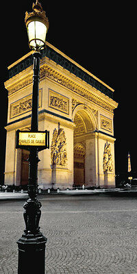 Paris Nights I Art Poster Print by Jeff Maihara, 12x24