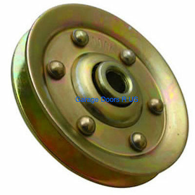 """Heavy Duty 3"""" Garage Door Pulley Sheave Sheeve Pully Extension Spring (springs)"""