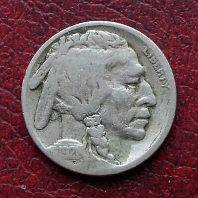USA 1921 S nickel 5 cents