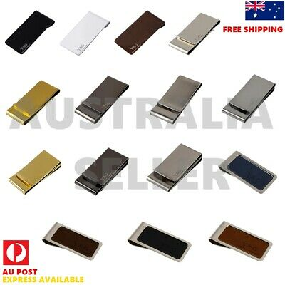 YQA04 Business Presents Stainless Steel Money Clips Rectangle Fashion By Y&G