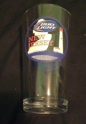 New Jersey Shore Edition Bud Light Pint Glass Special Collectible Glass
