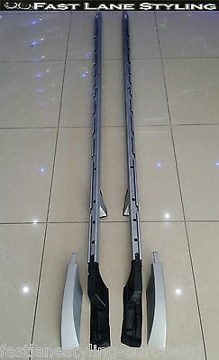 LAND ROVER DISCOVERY 3 & 4 OEM STYLE SILVER ROOF RAILS BAR RACK - DIS4ROOF-S