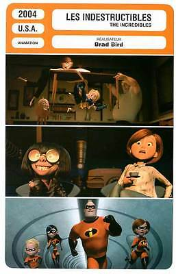 FICHE CINEMA : LES INDESTRUCTIBLES - Brad Bird 2004 The Incredibles