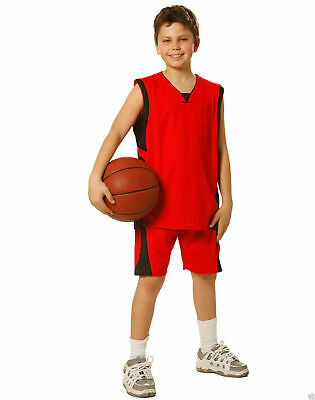 Cooldry Kids | Children Basketball Sport Shorts | Contrast Colours