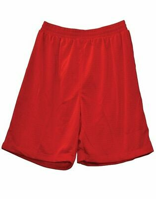 Plain Kids / Children Basketball Sport Shorts | Cooldry Polyester Mesh New