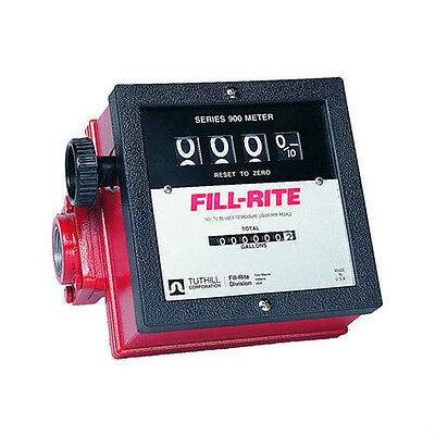 "Tuthill Fill Rite FR901 Fuel Transfer Pump 1"" inch Mechanical Meter"