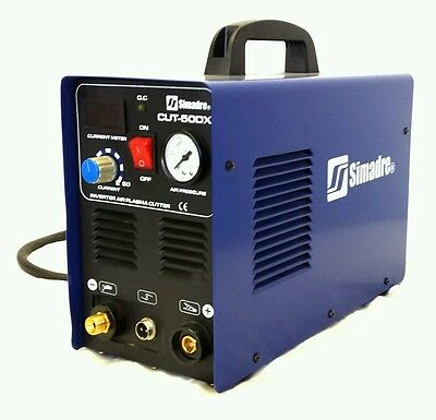 SIMADRE BRAND NEW 2014 110/220V 50DX 50AMP PLASMA CUTTER with SG-55 TORCH