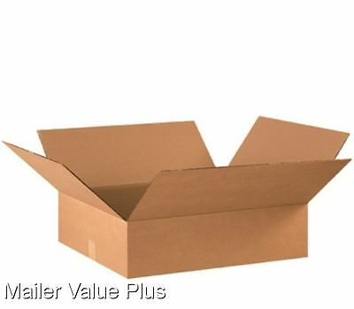25  14 x 12 x 4 Corrugated Shipping Boxes Packing Storage Cartons Cardboard Box