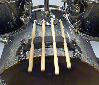 Maxonix StickARK Drumstick Holder - Kick/Bass drum Mount 4x sticks (StealthGray)