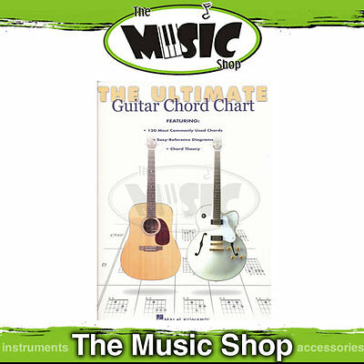 New The Ultimate Guitar Chord Chart - Chord Book