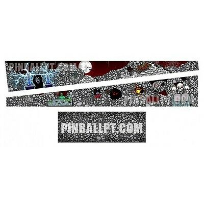 Scared Stiff Pinball Decal Inside Cabinet Art Mod