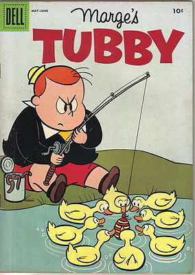 Marge's Tubby Comic Book #22, Little Lulu Dell Comics 1957 VERY GOOD+