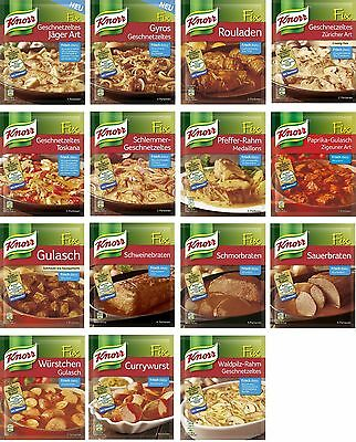German KNORR FIX - For meat dishes - 4 bags - SHIPPING FREE