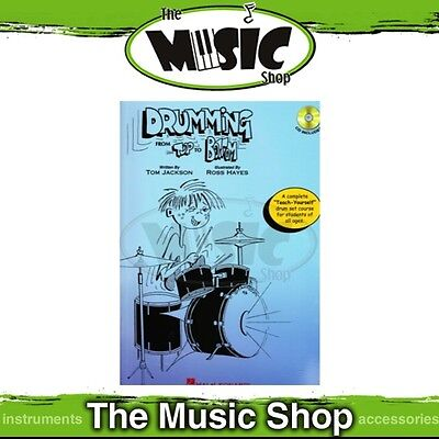 New Drumming From Top to Bottom Book with CD - Complete Drums Tuition