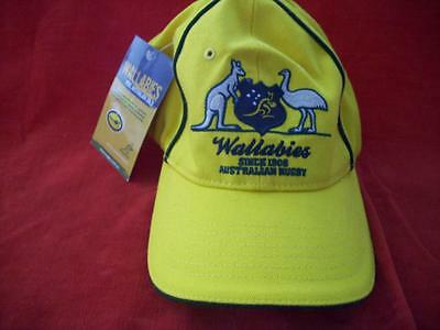 Wallabies Offical Cap One Size Fits All Great Condition New With Tag