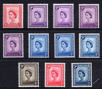 GB Regional (Multiple Listing) of Isle of Man Definitive Wilding 1958 - 1968