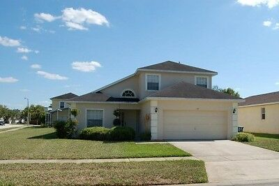 109 4 Bedroom vacation home with pool and spa in quiet community near Disney FL