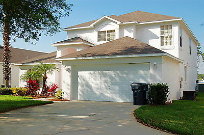 291 5 bed vacation rental home with pool and spa in gated community near Disney