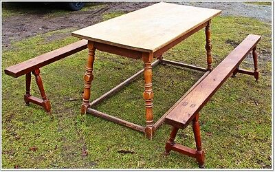 Domestics Refectory Table Kitchen