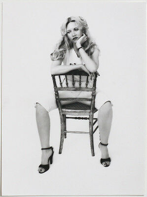 VINT. 1970s fashion photo, lady in risque pose