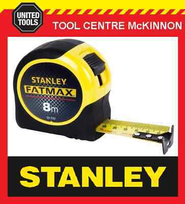 STANLEY FATMAX 33-732 8m METRIC TAPE MEASURE (3.3m STANDOUT) - MADE IN USA