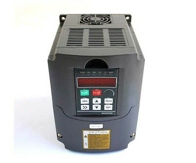 Cnc Variable Frequency Drive Inverter Vfd Usa 110V 1.5Kw