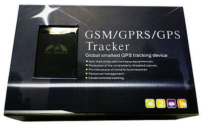 Mini Real-Time Magnet GPS/GSM/GPRS Car Vehicle Tracker Personal Tracking Device