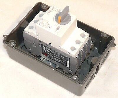 New Cerus Franklin Enclosed Manual Motor Starter CIE-MMS-32H-8 5-8  amps