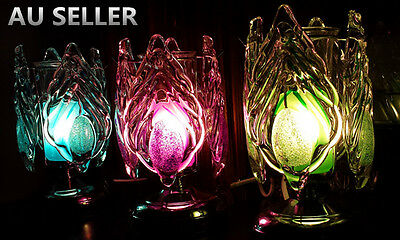 Touch Control Dimmable Electric Oil Burner Leaf/Wing Night lights Fragrant Lamp