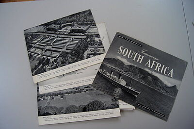 UK INTRODUCING COMMONWEALTH SOUTH AFRICA COLLECTIBLE ca.1950 #A010S
