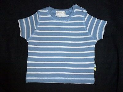 Bnwt Baby Boys T-Shirt Top Vest 0-12 Months Short Sleeved Cotton Babalunno