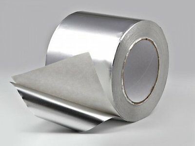 Ultratape Self Adhesive Aluminium Foil Tape - 50mm, 75mm & 100mm x 45.7m