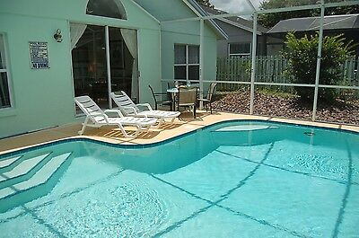 2978 4 bed vacation home with private fenced pool near Disney Orlando Florida