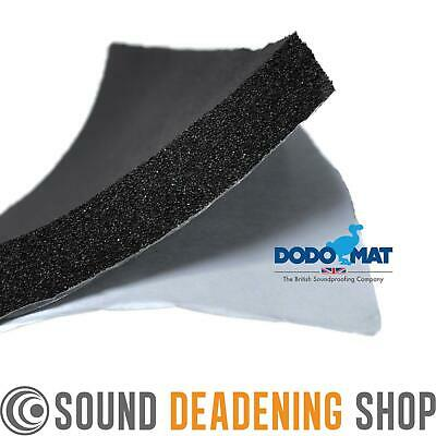 5 Sheets Dodo Super Liner Car Van Sound Proofing Deadening Insulation Foam 12mm