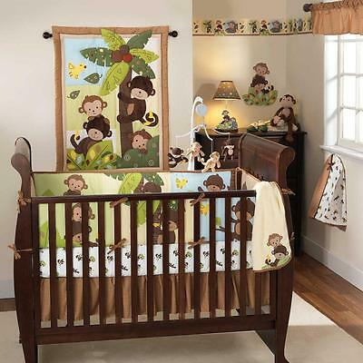 Curly Tails 3 Piece Baby Crib Bedding Set by Bedtime Originals