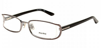 MIU MIU by Prada VMU 52H 5AV-1O1 Glasses Spectacles Eyeglasses Optical Frames