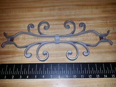 "Ornamental Cast Aluminum for 1/2"" Square Wrought Iron Railing Step Hand Railing"