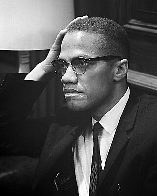 Malcolm-X Civil Rights Leader And Activist - 8X10 Photo (Aa-601)