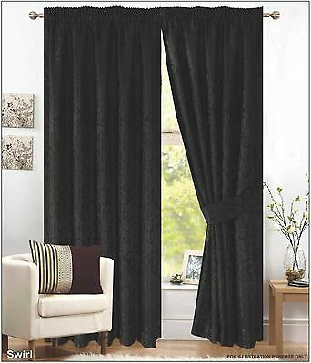 Black Pencil Pleat Curtains 90 X 72 - Best Curtains 2017