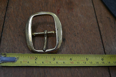 Vintage Swage Belt Buckle - Brass & Nickel - New - 1 per pack - Various Sizes