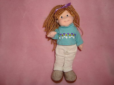 "Teenie Beanie Boppers Ty 2002  Plush Doll COOL CASSIDY 8"" tall"