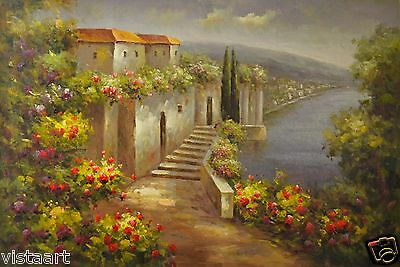"""Oil Painting on Stretched Canvas 24""""x36""""- Roverside View"""