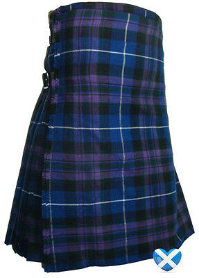 Pride Of Scotland KILT 8 YARD - All Sizes - BRAND NEW with FREE carry case