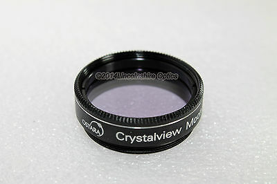 "Ostara 1.25"" Crystalview moon filter for telescope eyepiece. Retail packaged UK"