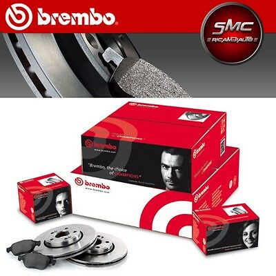 KIT DISCHI FRENO BREMBO + PASTIGLIE BREMBO VW GOLF 5 1.9 TDI ANT ( 280) mm