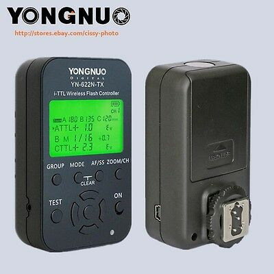 Yongnuo LCD screen Flash trigger controller YN-622N-tx for Nikon DSLR cameras