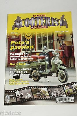 Classic Scooterist Scene 54 April-May 2007, Vespa/Lambretta/Mod/Skinhead