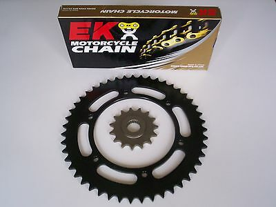 Bmw F650Gs F650 Gs New 16/47 Sprocket & Ek Sro6 O-Ring Chain Set Kit 99 - 07