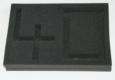 Pick and Pluck Packaging Foam Camera Case Tray Insert - 360mm x 265mm x 40mm