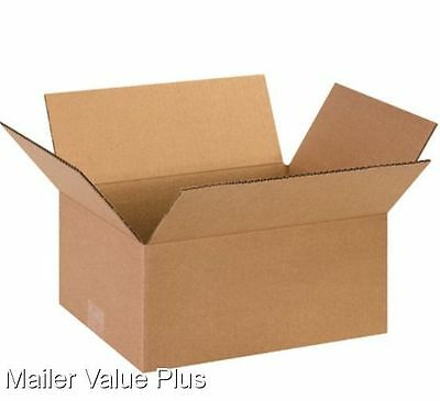100  9 x 6 x 4 Corrugated Shipping Boxes Packing Storage Cartons Cardboard Box